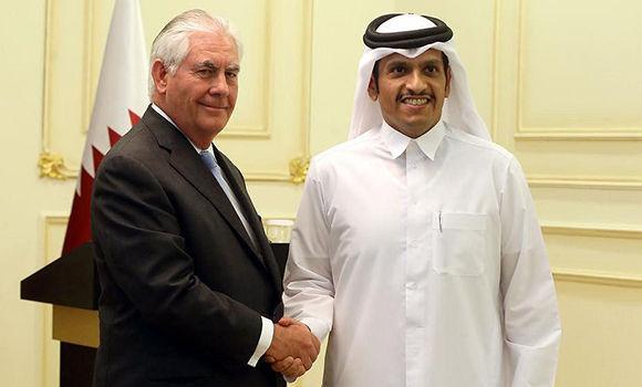 El cuarteto árabe se reunirá mañana con Tillerson en Arabia Saudí