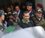 El expresidente de Perú, Ollanta Humala, es arrestado por la policía de su país. Foto: EFE.
