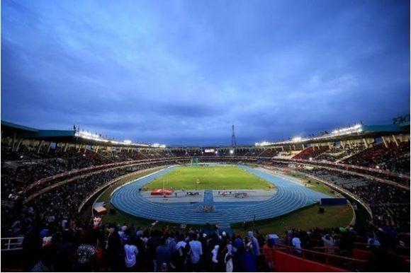 Estadio Karasani, sede del Mundial de Cadetes.