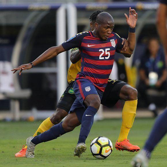 El disputado encuentro entre Estados Unidos y Jamaica se decidió al minuto 88'. Foto: @ussoccer/ Twitter.