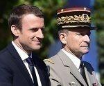 Jefe de las Fuerzas Armadas de Francia dimite a causa de los recortes de Macron