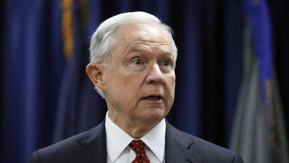 El fiscal general Jeff Sessions. Foto: AP.