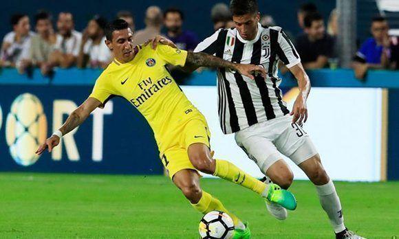 La Juventus se impuso 3-2 al PSG en un amistoso disputado en La Florida. Foto tomada de Calcio Mercato.
