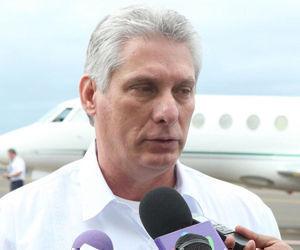 El primer vicepresidente cubano, Miguel Díaz-Canel. Foto: Archivo.