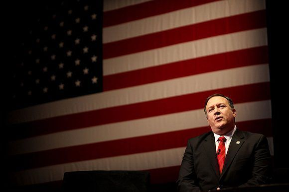 Mike Pompeo, director de la CIA.