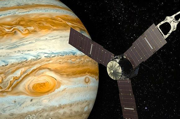 La NASA revela imágenes de la Gran Mancha Roja de Júpiter a una distancia histórica. Foto tomada de El Espectador