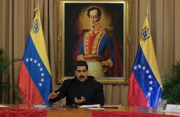 El presidente de Venezuela, Nicolás Maduro. Foto: @PresidencialVen