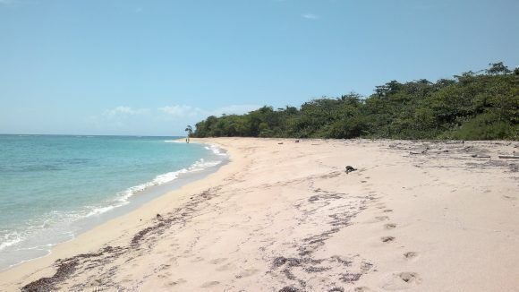 Playa Maguana, Baracoa. Foto: Isael Bozán Acosta / Cubadebate