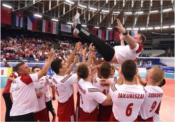 Polonia Campeón del Mundo sub 21 de Voleibol. Foto: FIVB