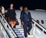 Ali Bongo Ondimba, Presidente de la República Gabonesa, a su llegada a Cuba, en visita oficial, por el Aeropuerto Internacional José Martí, en La Habana, el 6 de julio de 2017. ACN FOTO/Marcelino VÁZQUEZ HERNÁNDEZ/sdl