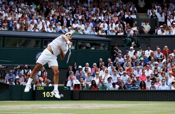 Federer conquistó el torneo londinense por octava ocasión en la historia. Foto: Reuters.