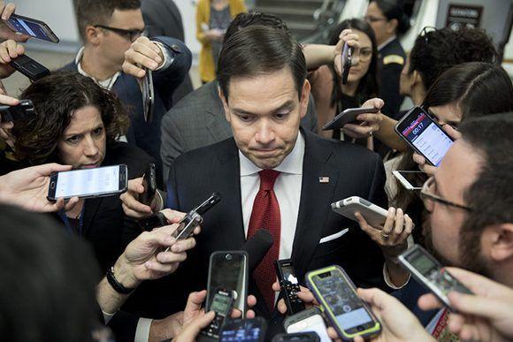 El senador de La Florida, Marco Rubio. Foto: Aaron P. Bernstein/ Getty Images.