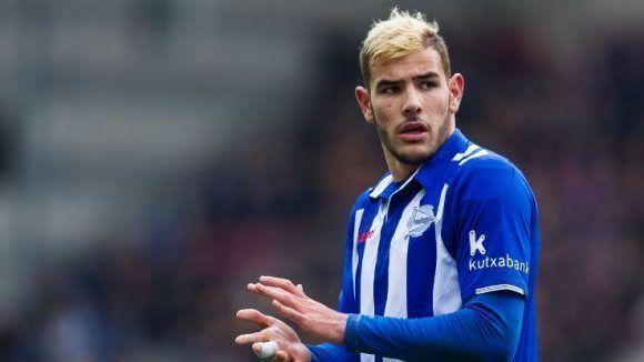 El joven jugador franco-español jugó la temporada pasada cedido en el Deportivo Alavés y fue una de las revelaciones de la liga. Foto tomada de ESPN.