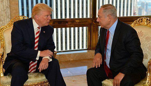 Los presidentes de Estados Unidos e Israel: Trump y Netanyahu, en una imagen del pasado septiembre en Nueva York. Foto: Reuters.