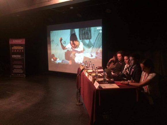 Una de las sesiones del II Coloquio Latinoamericano de la Danza en México