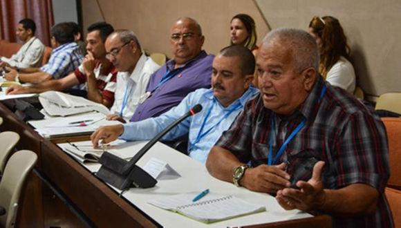 La comisión Agroalimentaria concluyó hoy tres días de sesiones, previas al noveno período ordinario de sesiones de la VIII Legislatura. Foto: Marcelino Vázquez Hernández.