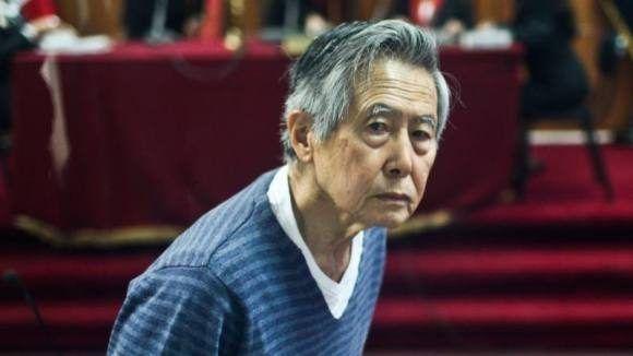 El expresidente de Perú Alberto Fujimori. Foto: Agencias.