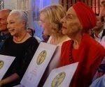 Alicia Alonso fue nombrada hoy en esta ciudad española Embajadora Mundial de la Danza por la Unesco. Foto: PL.