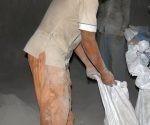 El cemento gris a granel fue el ideal para los fines lucrativos de los implicados. Foto: Escambray.