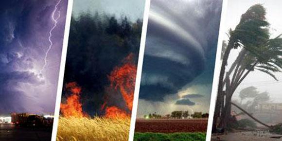 Los fenómenos meteorológicos anormales o de clima extremo poseen más duración e intensidad desde hace varias décadas por el aumento de las temperaturas. Foto tomada de nature.com