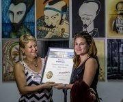 Jessica Mesa Duarte, premio Entrevista, de Radio 26. Foto: Ismael Francisco/Cubadebate.
