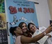 Premiacion del Concurso Nacional de Periodismo 26 de Julio en la casa de la Prensa. Foto: Jennifer Romero/ Cubadebate.