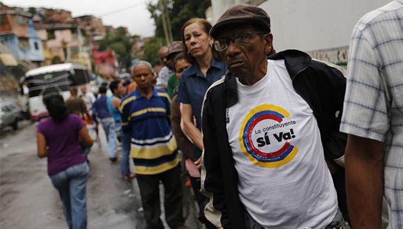 Extienden en Venezuela jornada electoral para Constituyente