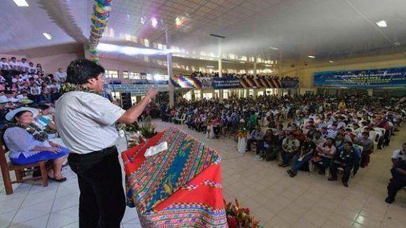 Presidente Evo Morales critica a países que no reconocen la Constituyente — VENEZUELA
