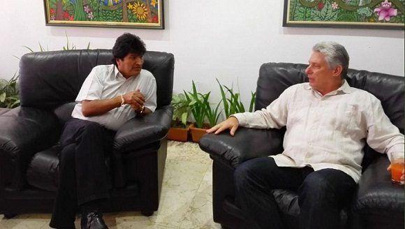 Concluye presidente boliviano visita de trabajo a Cuba