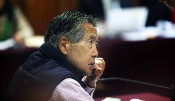Alberto Fujimori cumple una condena de 25 años y pudiera encontrarse con Humala en la prisión. Foto: EFE.