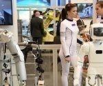"""""""Para el año 2035, se prevé crear en Rusia unas 40 'fábricas del futuro', 25 campos de prueba y 15 centros digitales de certificación"""", señaló el ministro Máturov. Foto: Sputnik."""