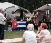 Fiesta de la Solidaridad por el 26 de Julio en Berlín. Foto: Cubadebate.