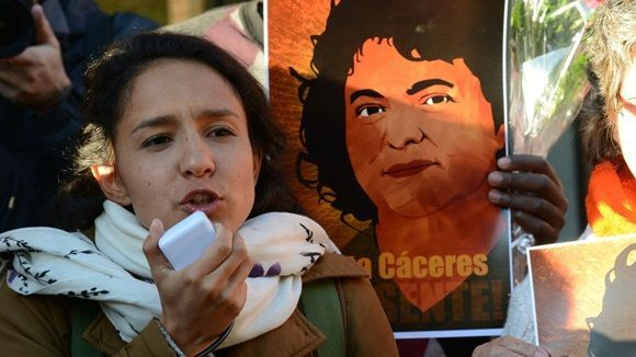 Berta Zúñiga. Foto: Foto: Copinh.