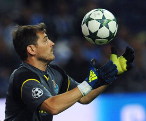 Iker Casillas. Foto: Agencias.