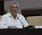 Diputado Miguel Díaz-Canel, miembro del Buró Político y primer vicepresidente de los Consejos de Estado y de Ministros de Cuba. Foto: Irene Pérez/ Cubadebate.