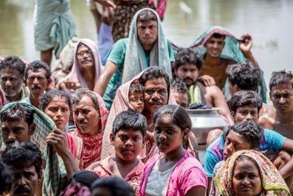 Inundaciones provocan más de 600 muertes en India. Foto:EFE.