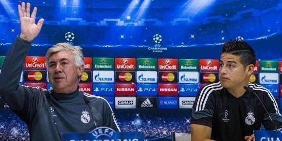 ames Rodríguez jugará las próximas dos temporadas cedido en el Bayern de Múnich, anunció este martes el Real Madrid. Foto: Emilio Naranjo/EFE.