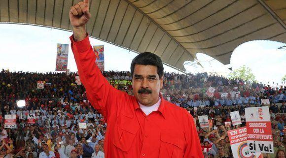 """""""Enviamos un abrazo comprometido de lucha y hermandad a Cuba, que consolida el lazo que formaron los Comandantes Fidel Castro y Hugo Chávez"""" Foto: AVN."""
