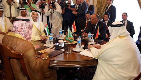 Los gobiernos de Arabia Saudí, Bahréin, Egipto y Emiratos Árabes Unidos (EAU) han afirmado este viernes que anunciarán nuevas medidas contra Qatar. Foto: Reuters.