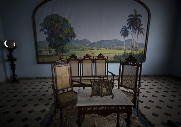 Obra de Domingo Ramos, el pintor de Viñales. Foto: Irene Pérez/ Cubadebate.