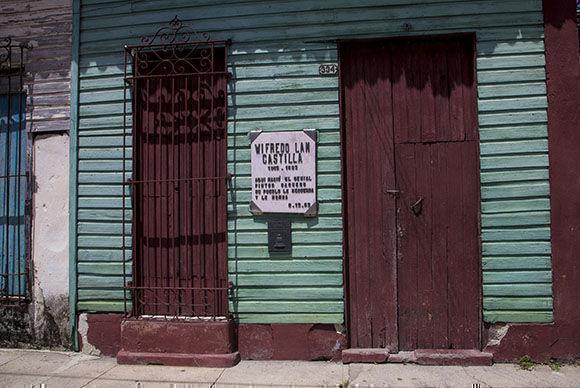 Casa natal de Wilfredo Lam, en Sagua la Gande, Villa Clara. Foto: Ismael Francisco/Cubadebate.