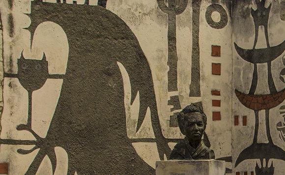 Busto a Wilfredo Lam en Sagua la Grande, Villa CLara. Foto: Ismael Francisco/Cubadebate.
