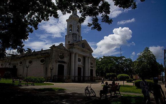 Ilgesia de Sagua la Grande, Villa CLara. Foto: Ismael Francisco/Cubadebate.
