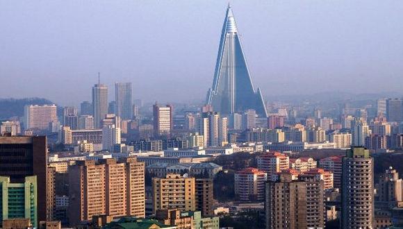 Vista de Pyongyang, capital de Corea del Norte. Foto: Archivo.