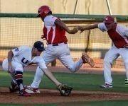 Quinto juego del tope amistoso entre las selecciones de Cuba y Estados Unidos, realizado en el  complejo nacional  de entrenamiento de la organización USA Baseball, en Carolina del Norte, el 7 de julio de 2017, en Estados Unidos, ACN FOTO/Abel PADRÓN PADILLA