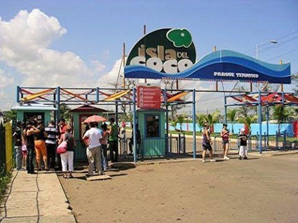 El parque abre a la población a las 10 de la mañana. Foto: Tomada de YouTube.