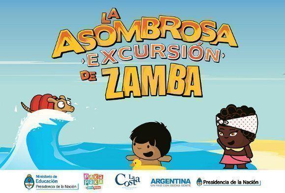 Zamba, del canal Encuentro de Argentina, en la TV Cubana.