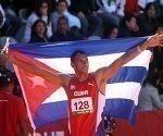 Sergio Mestre gana medalla de Oro en Salto de Altura, con registro de 2,26 mts. Foto: Ismael Francisco/ Cubadebate.