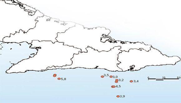 Sismos en Cuba 2017