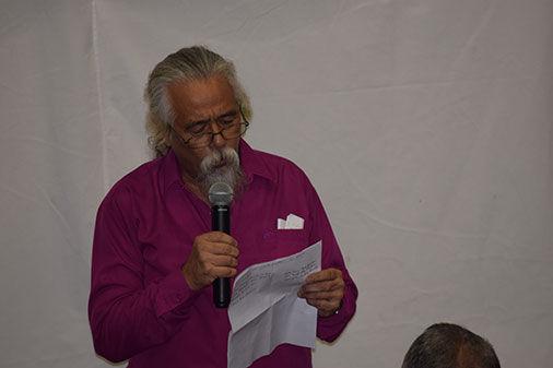 Reinaldo León: director del Teatro de la Utopía. / Foto: Januar Valdés